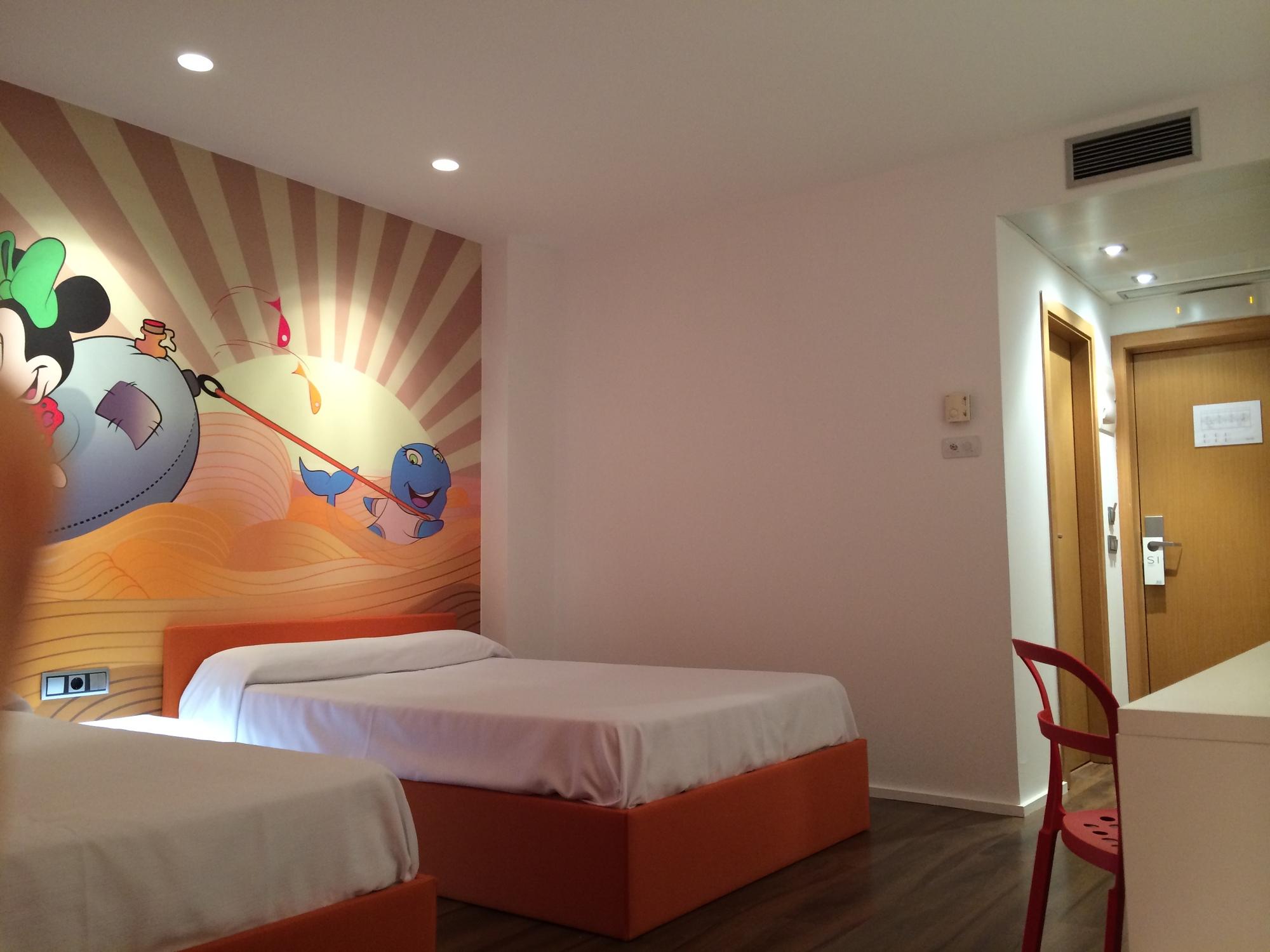 habitaciones tem ticas infantiles del hotel acuazul