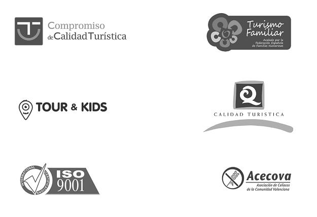 Hoteles en Peñiscola con sellos de calidad turistica