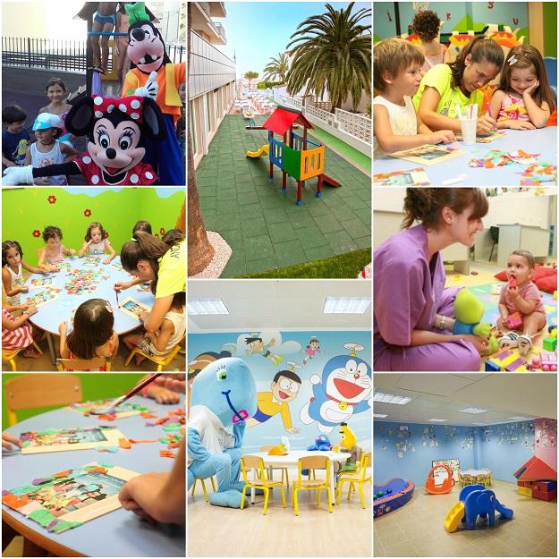 Hoteles familiares con Miniclub infantil