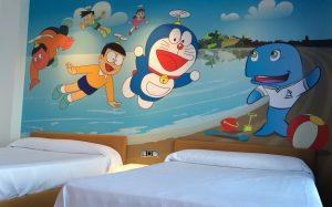 Hoteles con habitaciones tematicas