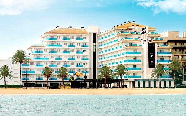 Hoteles primera linea de playa de Peñiscola