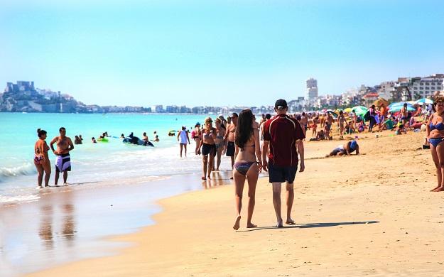 Playas para familias en Peñiscola