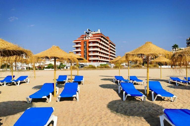 Beach Club del hotel Acualandia de Peñíscola